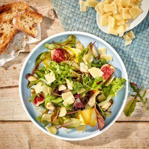 Salate und Health Food