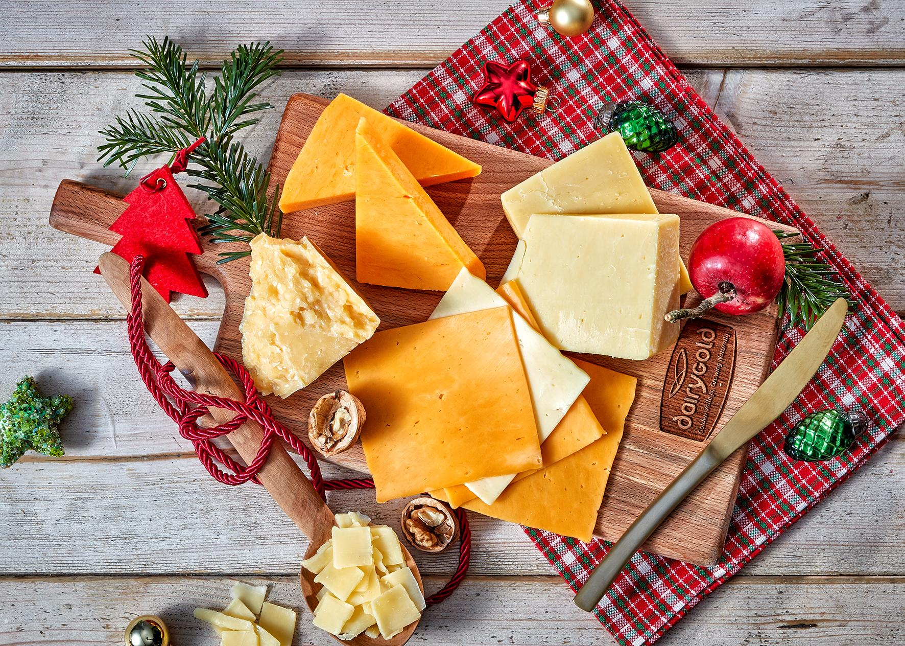 Die Festtage mit Käse von Dairygold genießen