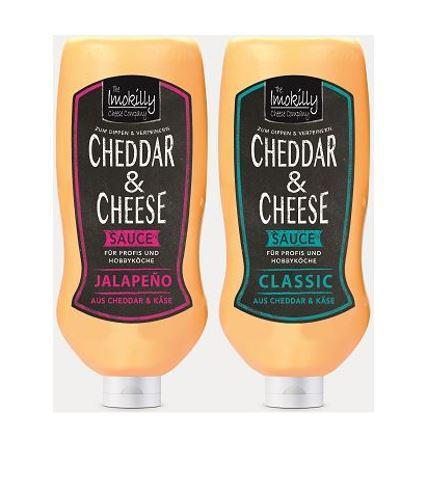 Cheddar & Cheese Saucen - Mit hohem Cheddar Anteil